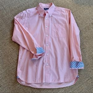 Bass | Preppy Peach Button Down Dress Shirt